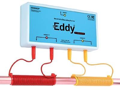 Eddy Electronic Water Descaler - Water Softener Alternative - Money Back Guarantee