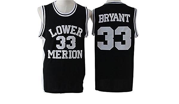 8892df6510d ... Merion Kobe Bryant 33 Jersey Mens Basketball Jersey