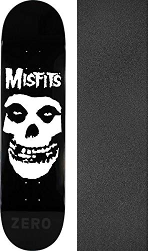 Image Unavailable. Image not available for. Color  Zero Skateboards Misfits  Fiend Skull Skateboard Deck ... 3bfb92d6699