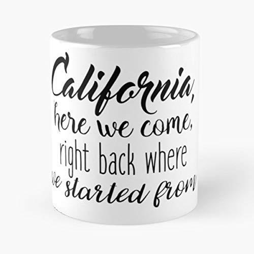 - California The Oc Mischa Barton Adam Brody - 11 Oz White -coffee Mug- Unique Birthday Gift-the Best Gift For Holidays.