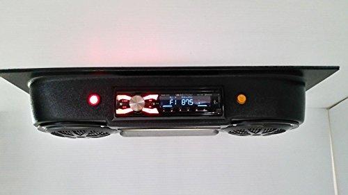 EMPTY GOLF CART UTV OVERHEAD STEREO RADIO - Overhead Console Stereo