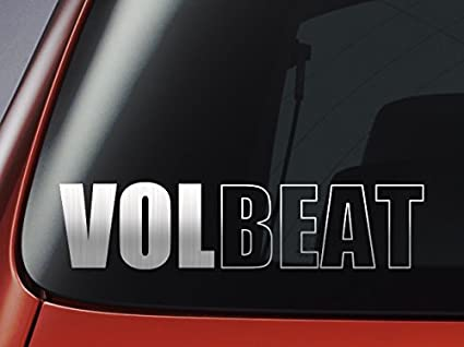 Volbeat – Adhesivo en vinilo, ideal para coches, ventanas, paredes, portátiles, guitarras – Adhesivo: Amazon.es: Coche y moto