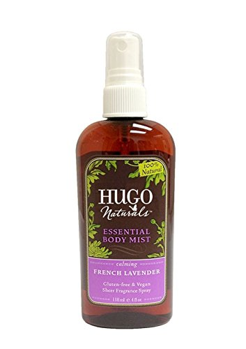 Hugo Naturals - Essential Body Mist Calming French Lavender - 4 oz.