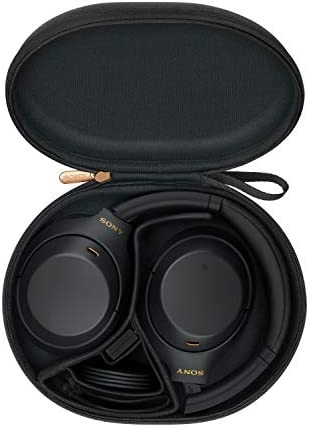 Sony WH-1000XM4 Wireless Industry Leading Noise Canceling Overhead Headphones with Mic for phone-call and Alexa voice control, Black 41CkQ13S 2BtL