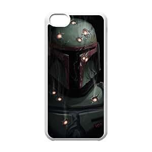 LJF phone case C-EUR Print Star Wars Warrior Pattern Hard Case for iPhone 5C