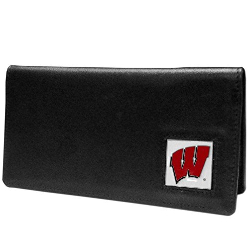 Wisconsin Badgers Black Leather - 1
