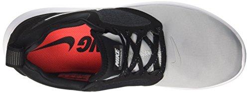 Nike Mens Lunarsolo Scarpe Da Corsa Lupo Grigio Nero 005