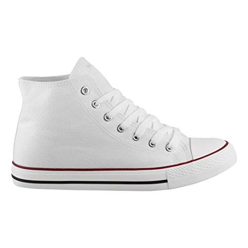 Bequeme White Größer Chunkyrayan Nummer Basic Elara Kult High Sportschuhe Schuhe Textil für Unisex Eine Top Herren Sneaker Fällt Aus Damen und ttgH61q
