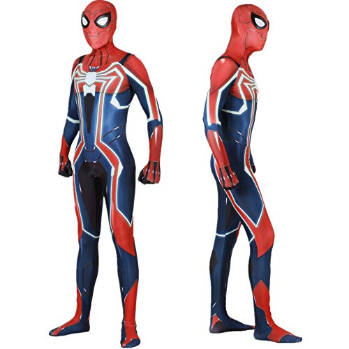 - PS4 Spider-Man Velocity Suit Lycra Spandex Zentai Halloween Spiderman Costumes Adult/Kids 3D Style
