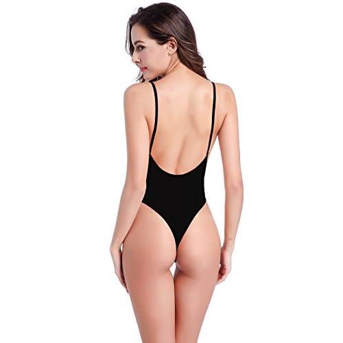 a8a0ff0cac1b SHEKINI Mujeres Tanga Bañador Trajes de una pieza Brasileño Bikini Traje de  baño Buena