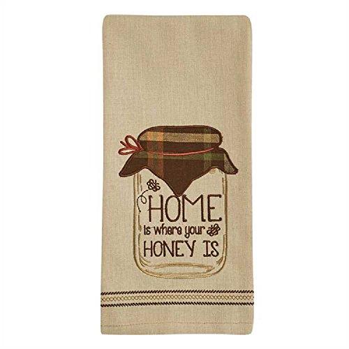 - Park Designs Home Is Where Applique Dishtowel Kitchen Linen