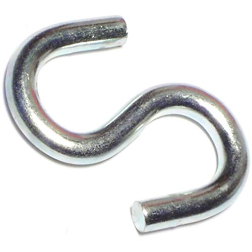 1.5 Inch Open Hook - Hard-to-Find Fastener 014973156404 Open S Hooks, 1-1/2-Inch, 100-Piece