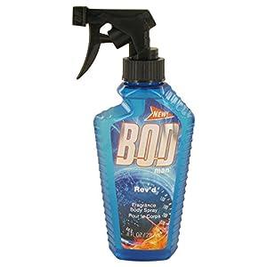 Bod Man Rev'd by Parfums De Coeur Body Spray 8 oz for Men