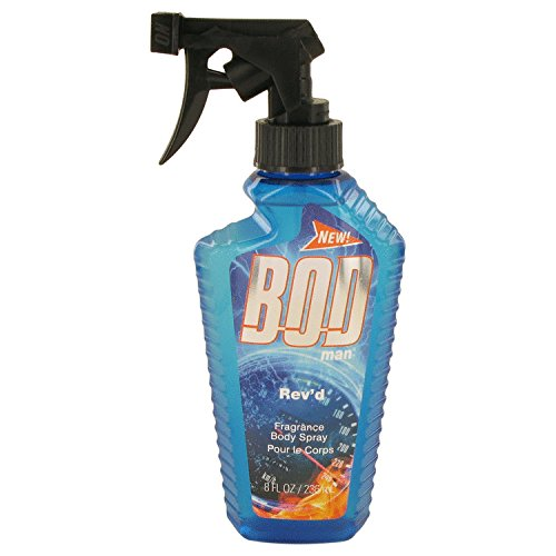 Bod Man Rev'd by Parfums De Coeur Body Spray 8 oz for Men