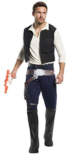 Rubie's Men's Standard Star Wars Classic Han Solo, as as Shown, Standard