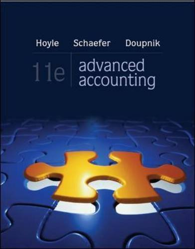 advanced accounting looseleaf - 6