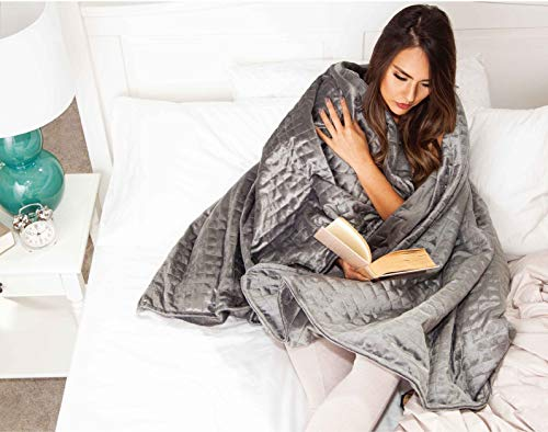 Cheap Pure Harmony Weighted Blanket Black Friday & Cyber Monday 2019