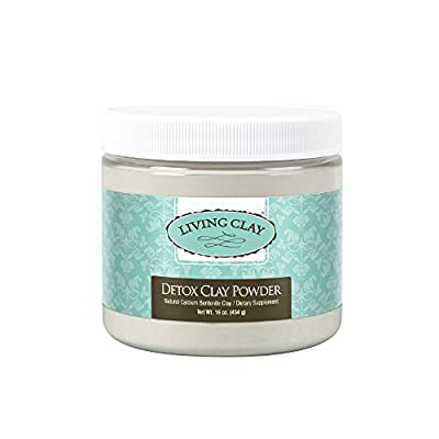 Living Clay Detox Clay Fine Powder, 16 Ounce from The Regatta Group DBA Beauty Depot