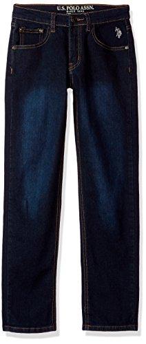 Crinkle Denim Jeans - 2