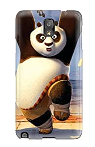 Richard V. Leslie's Shop Best Special Skin Case Cover For Galaxy Note 3, Popular Kung Fu Tigress Panda Monkey Phone Case 9890703K92657292