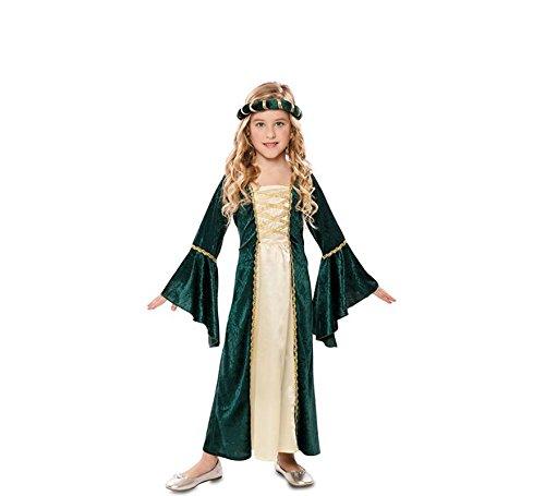 design popolare in vendita goditi la spedizione in omaggio Costume Dama Medievale Verde Bambino - Ragazza, Da 10 a 12 ...