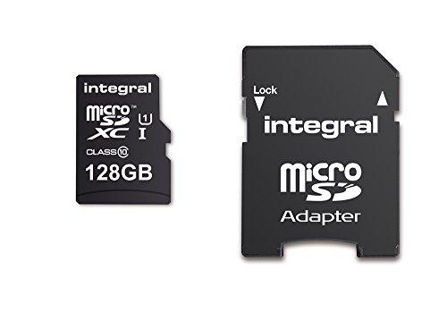 Cartão De Memória Micro Sd 128GB TF SDXC + Adaptador