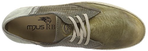 Mjus 411105, Men's Low-Top Sneakers Multicolour - Mehrfarbig (Oliva/Sasso)