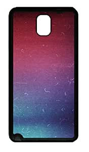 Galaxy Note 3 Case, Note 3 Cases - Infrared Colors Scratches Soft Rubber Bumper Case for Samsung Galaxy Note 3 N9000 TPU Black