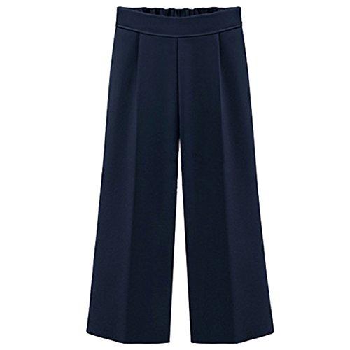 Dreamworldeu Damen Breite Bein Hose Chiffon Sommer Hose Elegant Pants
