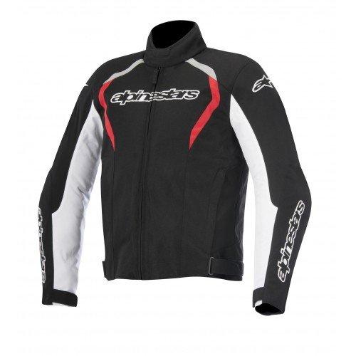 Alpinestars Fastback Waterproof Men's Street Motorcycle Jackets - Black/White/Red / ()