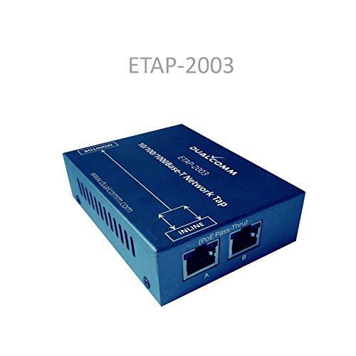 Dualcomm 10/100/1000Base-T Gigabit Ethernet Network TAP
