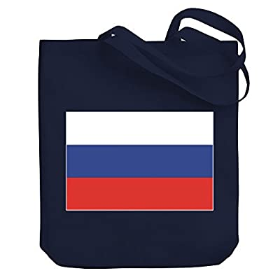 bd57390298 low-cost Teeburon Russia Flag Canvas Tote Bag - totalplaycobertura.mx