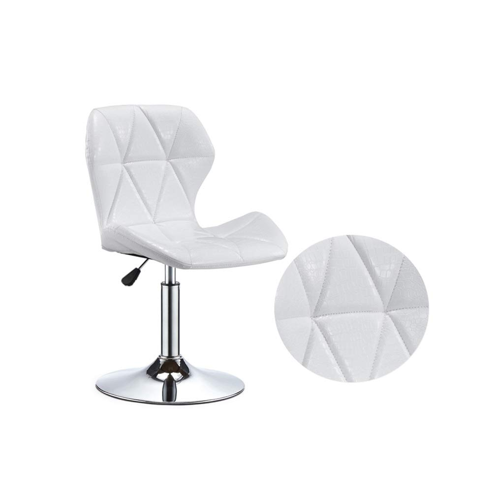 B Small Beauty Stool Bar Chair High Foot Leisure Swivel Seat Can Be Lifted Front Desk Reception Non-Slip Metal Nail Makeup Stool (color   I, Size   S)