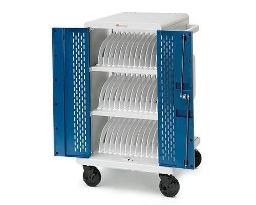 36-Compartment Tablet Storage Cart from Bretford