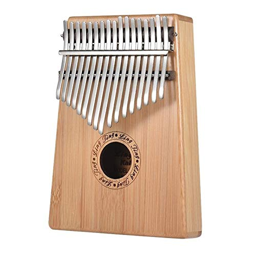 camelliaES Thumb Piano Kalimba 17-Tone Finger Piano Kalimba Beginner Portable Musical Instrument Simple Design Exquisite Workmanship