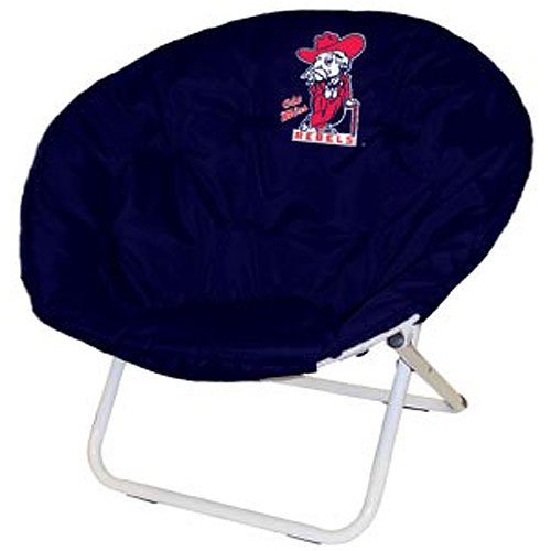 NCAA Sphere Lounge Chair NCAA Team: Ole Miss by Logo Chairs
