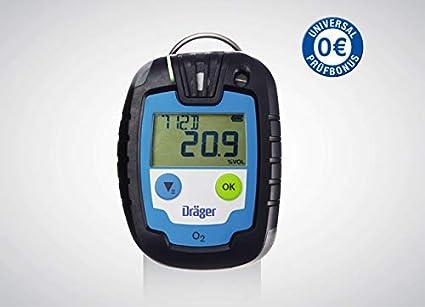 Dräger Gas dispositivo de advertencia Pac® 6000 O2 (8326322) + Universal prueba Bonus: Amazon.es: Industria, empresas y ciencia