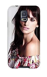 Hot Tpu Cover Case For Galaxy/ S5 Case Cover Skin - Penelope Cruz 26