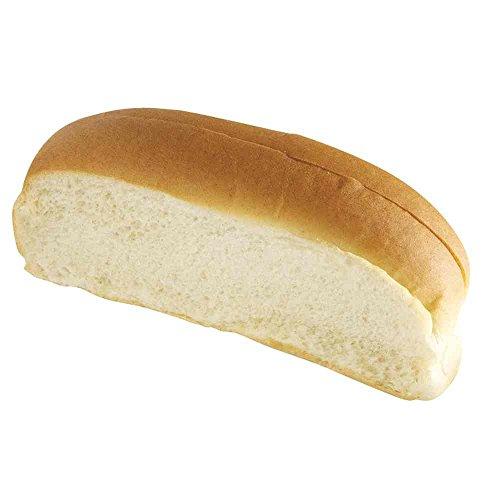 European Bakers New England Hot Dog Bun, 6 inch -- 96 per case. (Split Top Hot Dog Rolls)