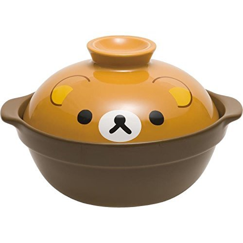 San-X Rilakkuma donabe TK05201 earthen pot from Japan