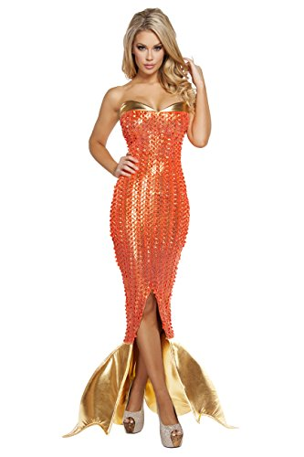 Sexy Women's 1pc Seductive Ocean Siren Mermaid Costume (S)