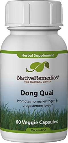 Native Remedies Dong Quai - All Natural Herbal Supplement Supports Female Hormonal Balance and Emotional Health - Promotes Normal Estrogen and Progesterone Levels - 60 Veggie Caps
