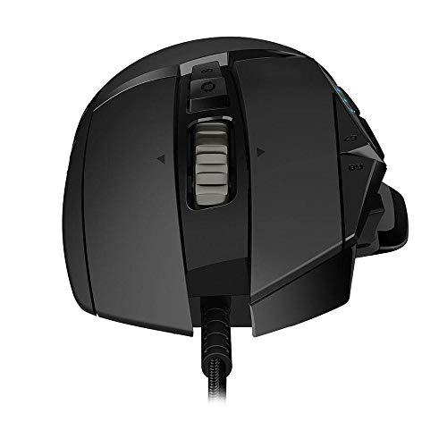 Mouse Gamer Logitech G502 HERO com RGB LIGHTSYNC, Ajustes de Peso, 11 Botões Programáveis e Sensor HERO 25K