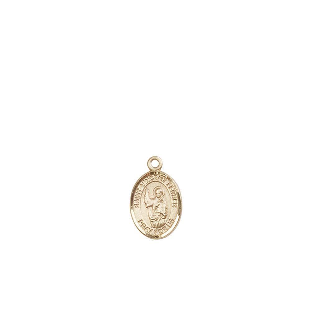 14kt Gold St Vincent Ferrer Medal