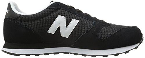 New Balance Men's Ml311 Lifestyle Fashion Sneaker, Black, 10 D US Black