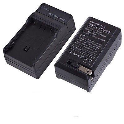 CGA-S002 DMW-BM7 Battery Charger for Panasonic DMC-FZ5 FZ10 FZ15 FZ20 FZ5PP FZ3B (Panasonic Lumix Fz20)