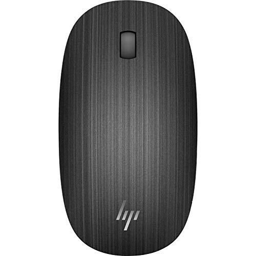 HP Spectre 510 3-Button Wireless Bluetooth Optical Scroll Mouse w/1600 DPI (Black) ()