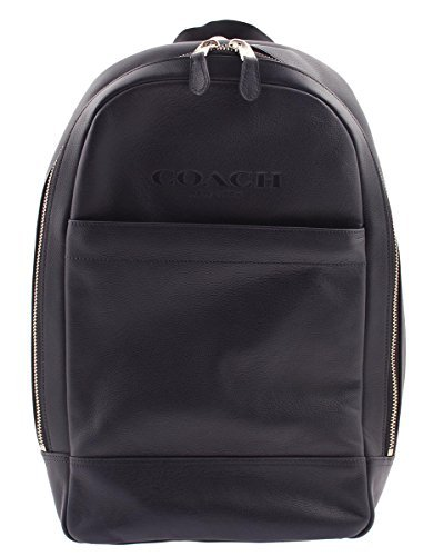 Top Leather Calf (COACH MEN CHARLES SLIM BACKPACK IN SPORT CALF LEATHER (NAVY))