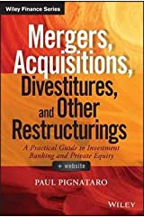 Paul Pignataro: Mergers, Acquisitions, Divestitures, and Other Restructurings, + Website (Hardcover); 2015 Edition Hardcover