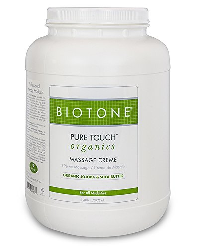 Biotone Pure Touch Organics Massage Creme - 1 Gallon (Biotone Deep Tissue)